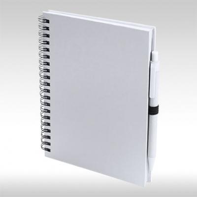 Бял А4 Тефтер TECNAR AP741502-01