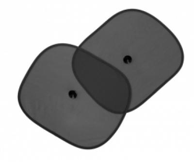 Черен страничен 2бр Black side car sunshade