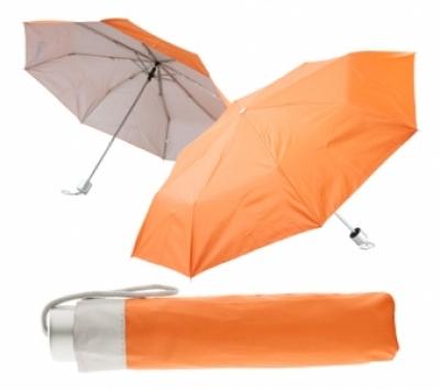 Сгъваем ръчен чадър с калъф - АР761350-03,  оранж
