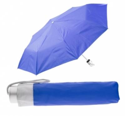 име:  Сгъваем ръчен чадър с калъф - АР761350-06, син