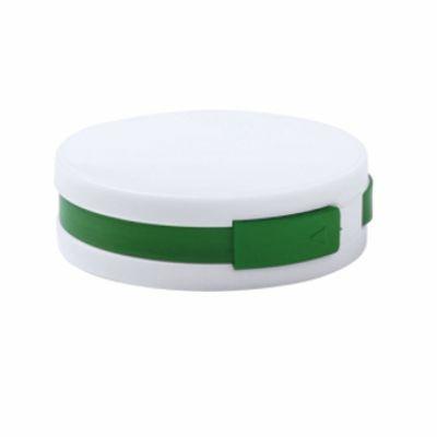 Пластмасов хъб с 4 порта, USB 2.0; AP781136-07 - зелен