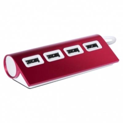 метален хъб с 4 порта, USB 2.0 - АР781137-05