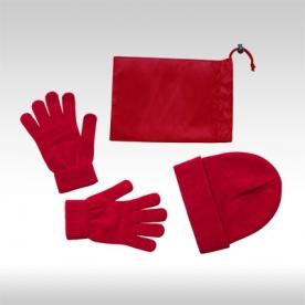 Червени ръкавици и шапка Duvel AP781300_05