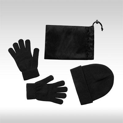 Черни ръкавици и шапка Duvel AP781300_10