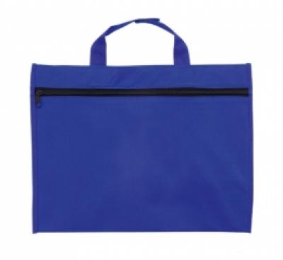 Синя чанта за документи
