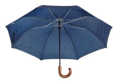 Автоматичен сгъваем чадър с дървена дръжка AP800706-06