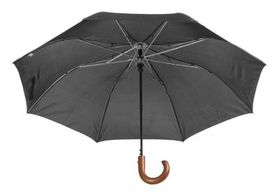 Автоматичен сгъваем чадър с дървене дръжка AP800706-10