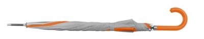 Атоматичен чадър с оранж панел