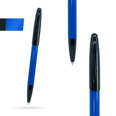 Метална химикалка KIWI, AP809445-06, синьо/черно