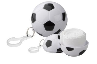 Дъждорани пончо - FREE KICK с карабинка, в кутийка футболна топка,AP810362