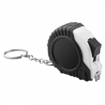 Ролетка ключодържател 2м - бяла, АР810715-1