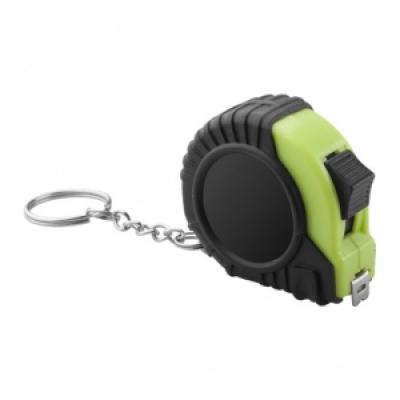 Ролетка ключодържател 2м - зелена, код АЗ810715-07