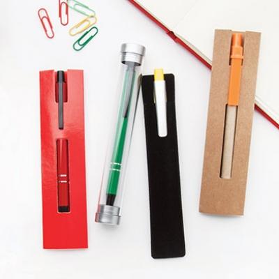 Калъфки и кутийки за химикалки и комплекти