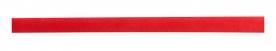 Червена рекламна лента за шапка
