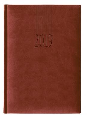 Календар бележник Lediberg Tucson A5 бордо