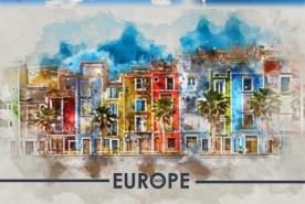 Стенен календар Европа
