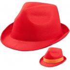 Унисекс модна шапка Braz Червена