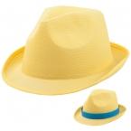 Унисекс модна шапка Braz Жълта