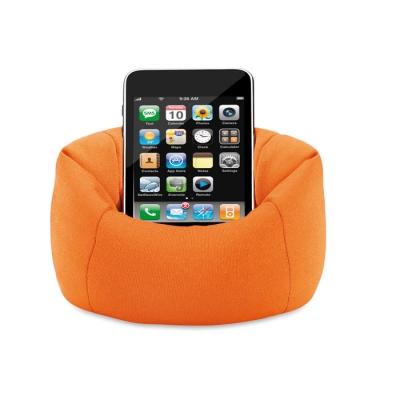 Оранжева мека поставка за телефон