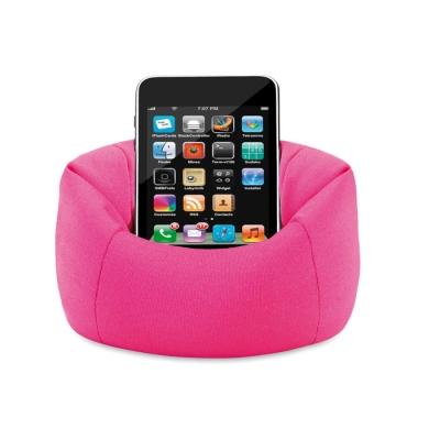 Пурпурно червена мека поставка за телефон