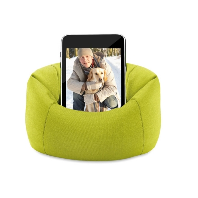 Зелена мека поставка за телефон
