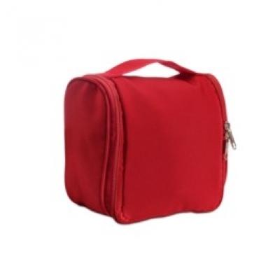 Козметична ръчна чанта Bagomatic, MO7651-05, червена