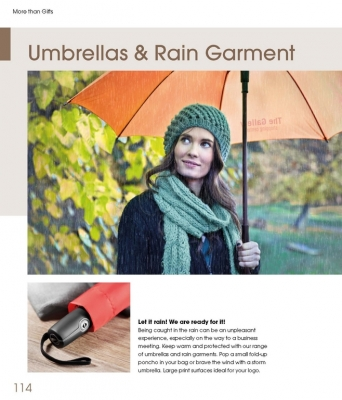 More than Gifts Umbrellas and Rain Garments | Чадъри More Than Brands