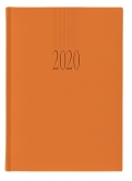 Календар бележник Lediberg Tucson A5 оранжев