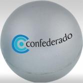 Антистрес топки за реклама, сребристи