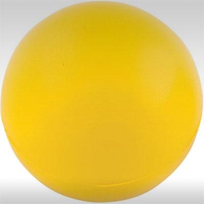 Антистрес топки за реклама, жълта