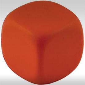 Антистрес кубче, червено
