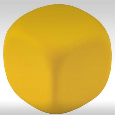Антистрес кубче, жълто