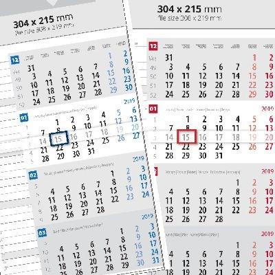 Календар 1 тяло, План