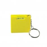 Ролетка 1м - нивелир R-004, жълта