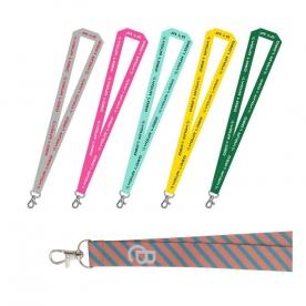 Двустранно напечатани, пълноцветни връзки за баджове