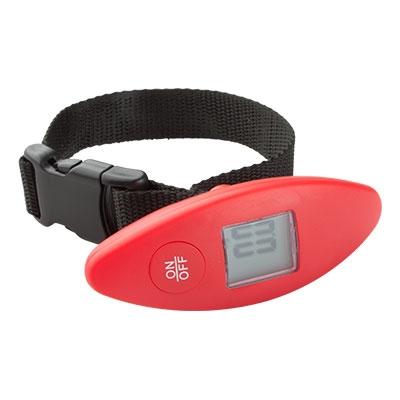 Кантарче за измерване на багаж до 40кг.- АР74130-05,червено