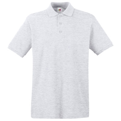 Мъжка ПОЛО тениска - СВЕТЛО СИВА