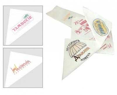 Салфетки с лого