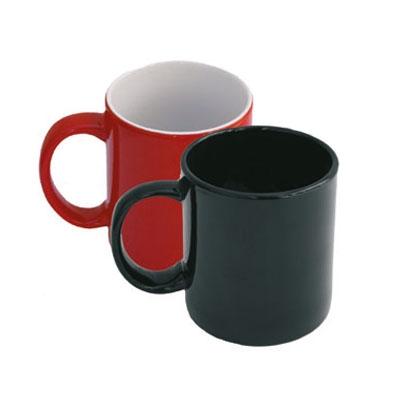 Цветни керамични чаши