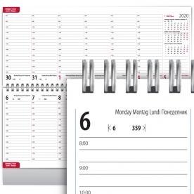 Настолен календар бележник, нстолни бележници