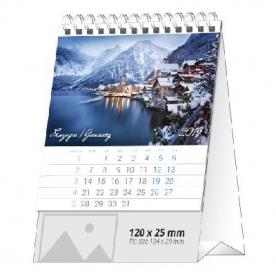 Настолен календар Европа на вода