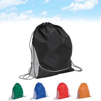 """Dual"" drawstring bag"