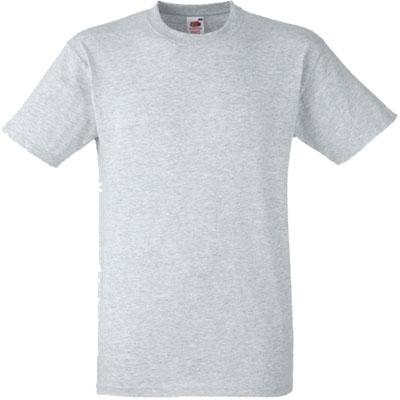 Мъжка обикновена тениска - СИВА