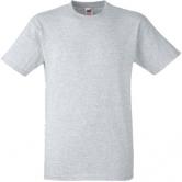 едноцветна мъжка тениска Keya - СИВА