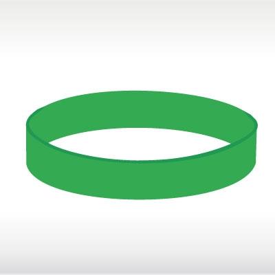 Зелени силиконови гривни