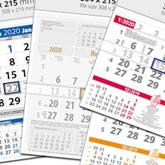 Работни Календари 1 тяло