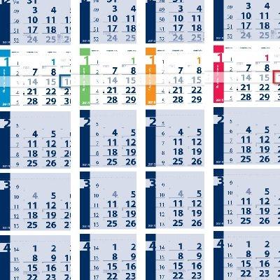 Календари с 6 тела