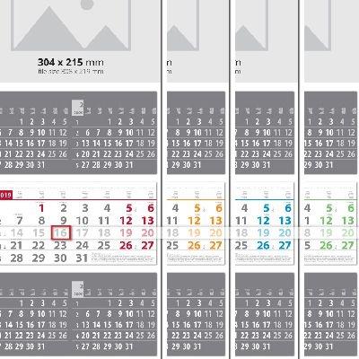 Работни календари Мулти 3 тела