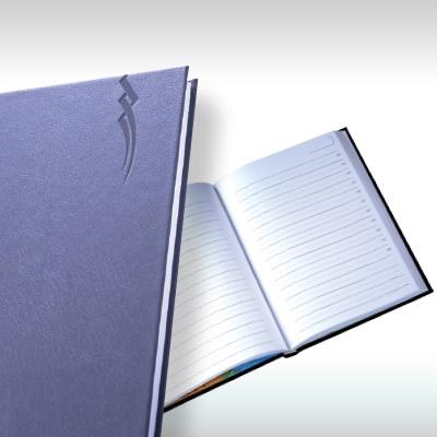 Календар бележник Оптимал - син