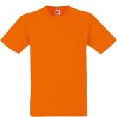 едноцветна мъжка тениска Keya  - ОРАНЖ